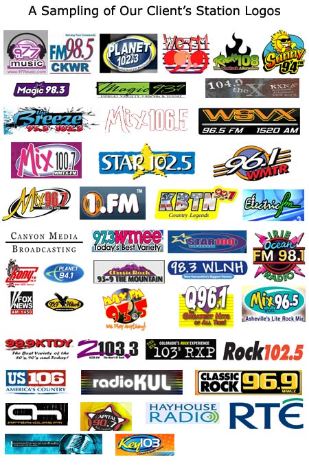 Radio Station Logo Radio station logos from some